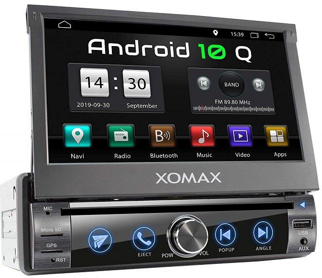 Xomax Universalgerat Mit Android 10 Android Usb Und Ruckfahrkamera
