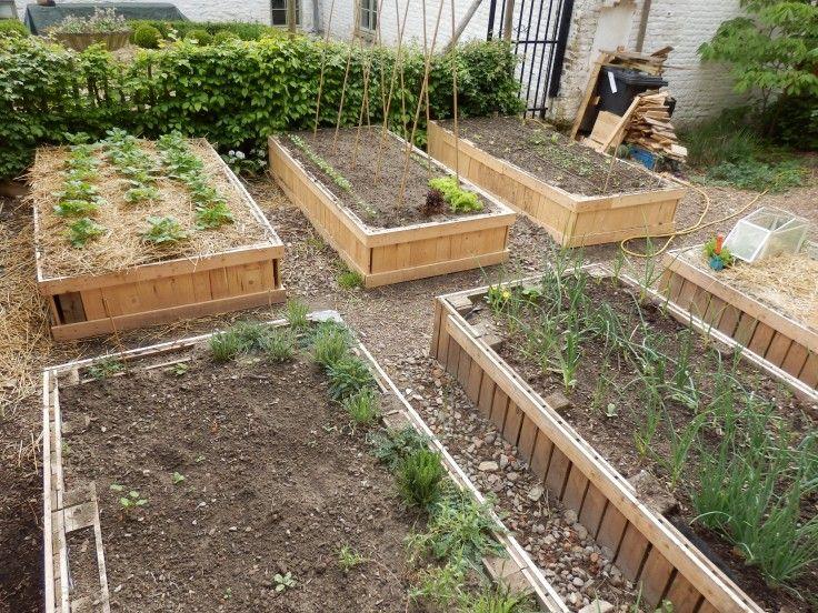 Hugelkultur en bac  l\u0027important, c\u0027est d\u0027aller droit aux buttes - Comment Monter Une Terrasse En Bois