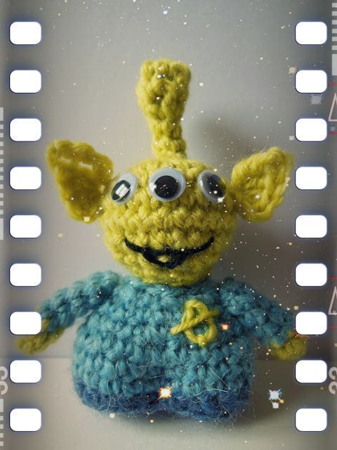 Alien Toy Story Amigurumi Free English and French scroll down Pattern Alien Toy Story Amigurumi Free English and French scroll down Pattern Alien Toy Story Amigurumi Free...