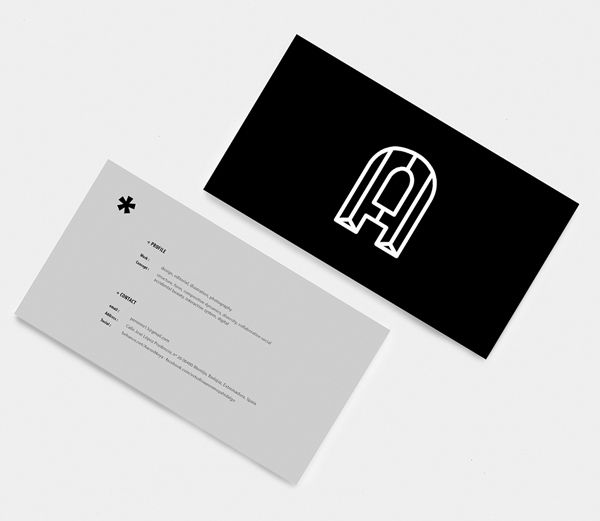 Aaron Moya Business Card Design #branding #businesscard #logodesign…