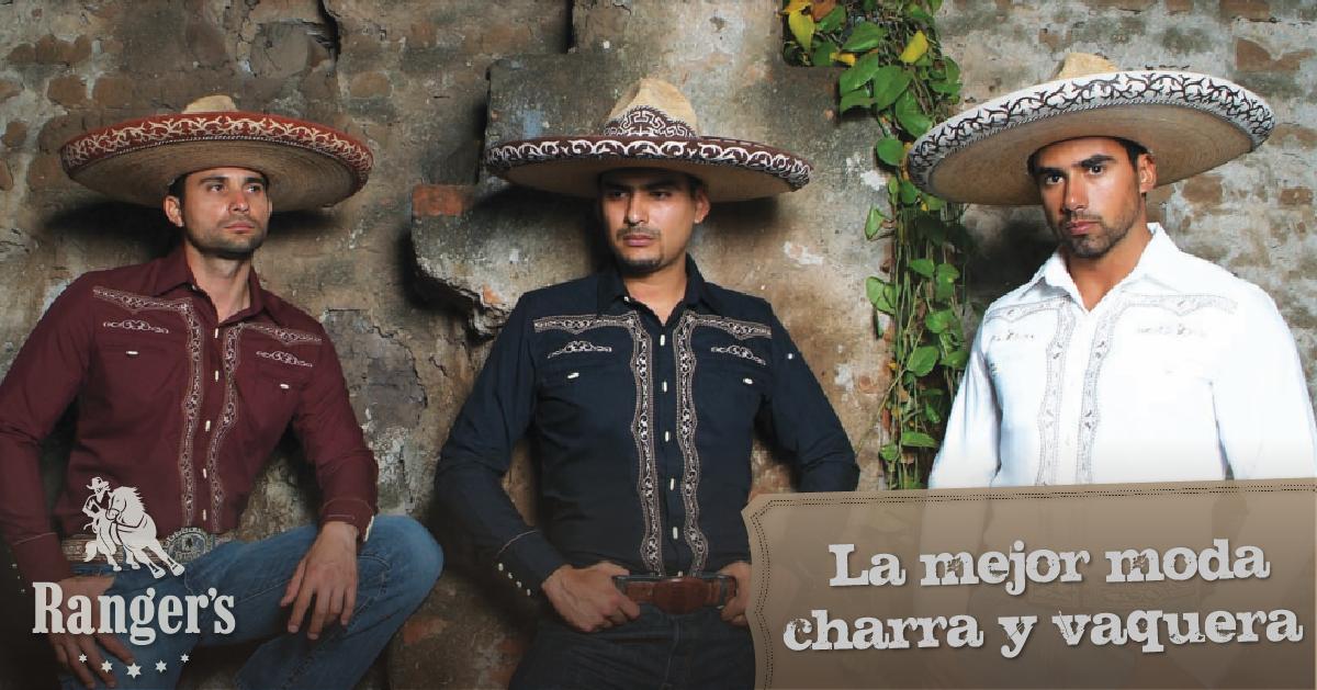 Llevamos a Jalisco en la sangre, ¡conoce nuestra línea de camisas charras!