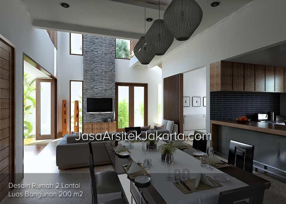 Rumah Desain Rumah Desain Rumah 2 Lantai