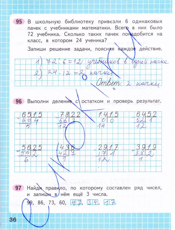 Конспект проверка вычитания 2 класс фгос
