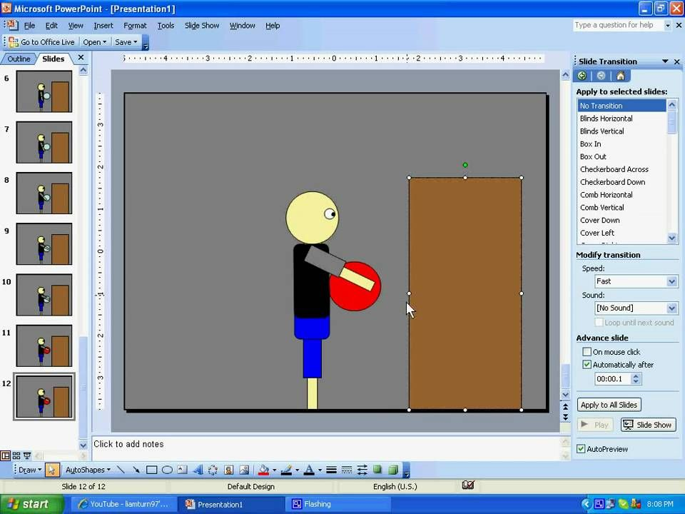 How to make a powerpoint animation : tutorial | Drawings