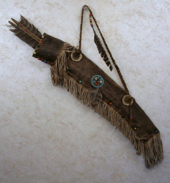quiver in a native American style