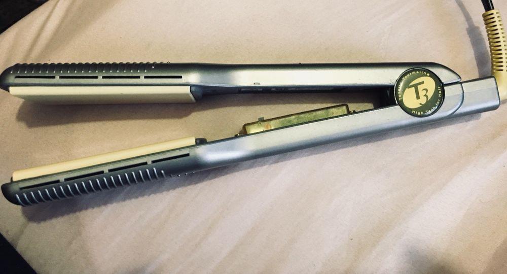 T3 Ceramic Ionic 100 Tourmaline Hair Straightener Tourmaline Hair Straighteners Ionic Hair Straightener