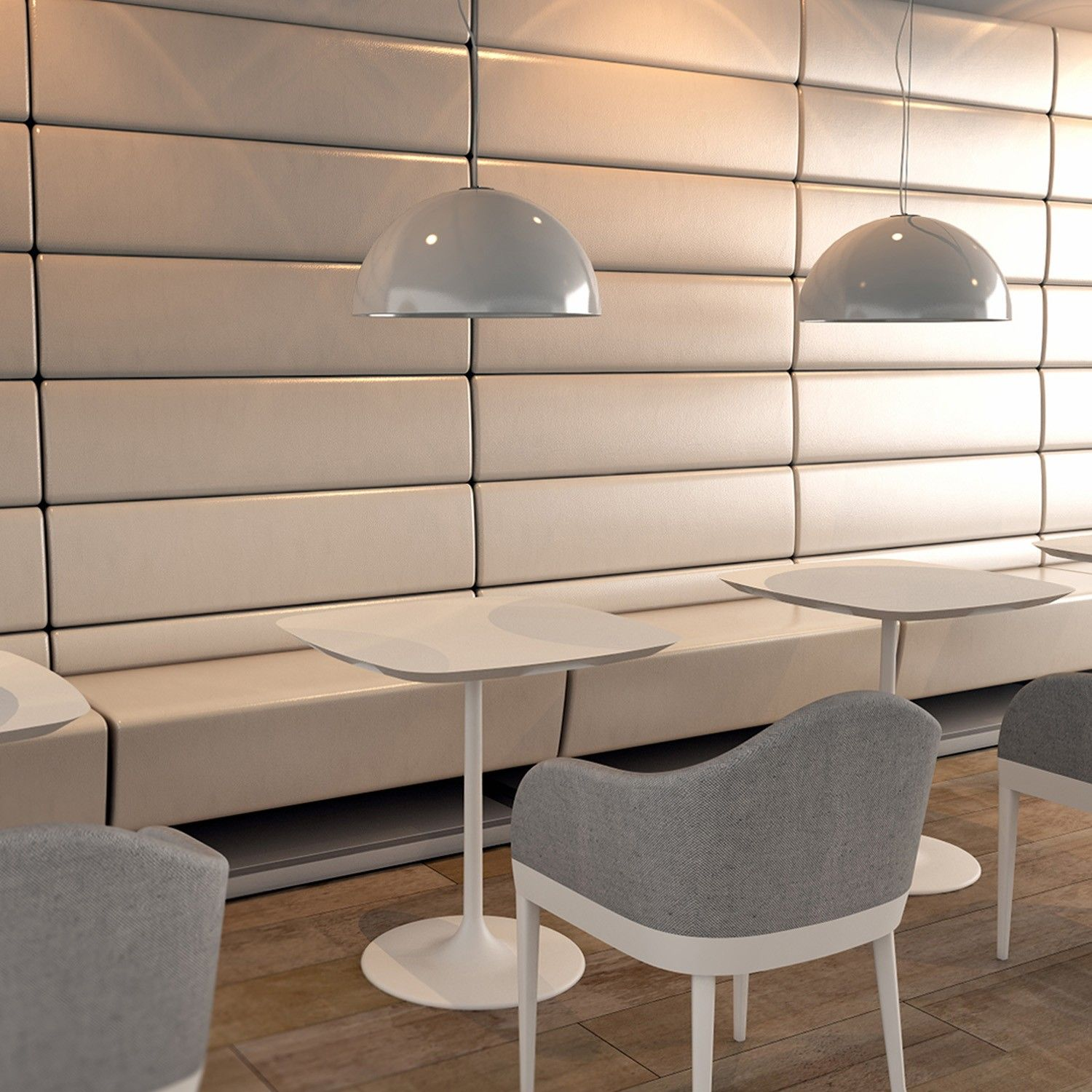 Cafe Banquette Seating