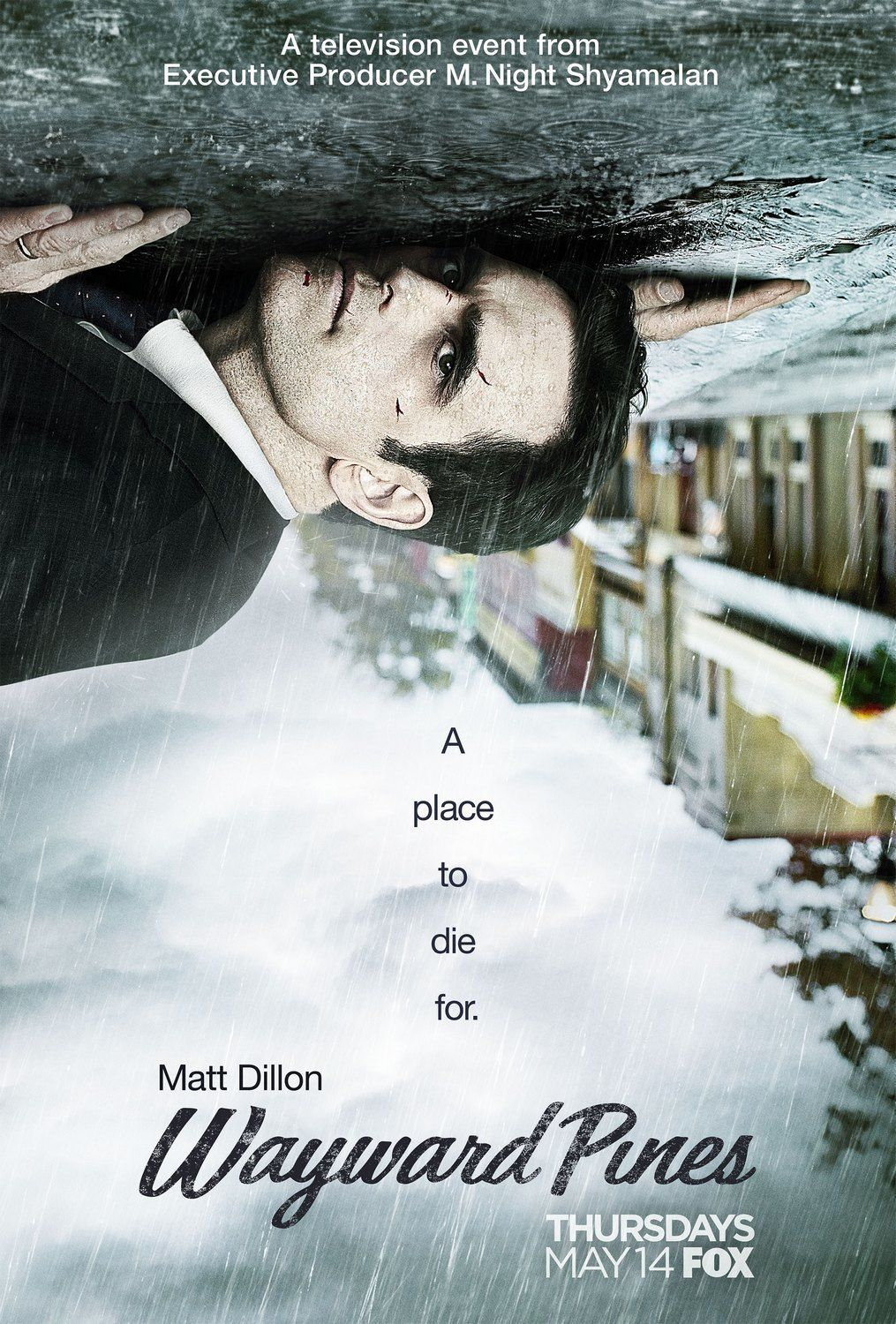 Wayward Pines Wayward Pines Matt Dillon Tv Series