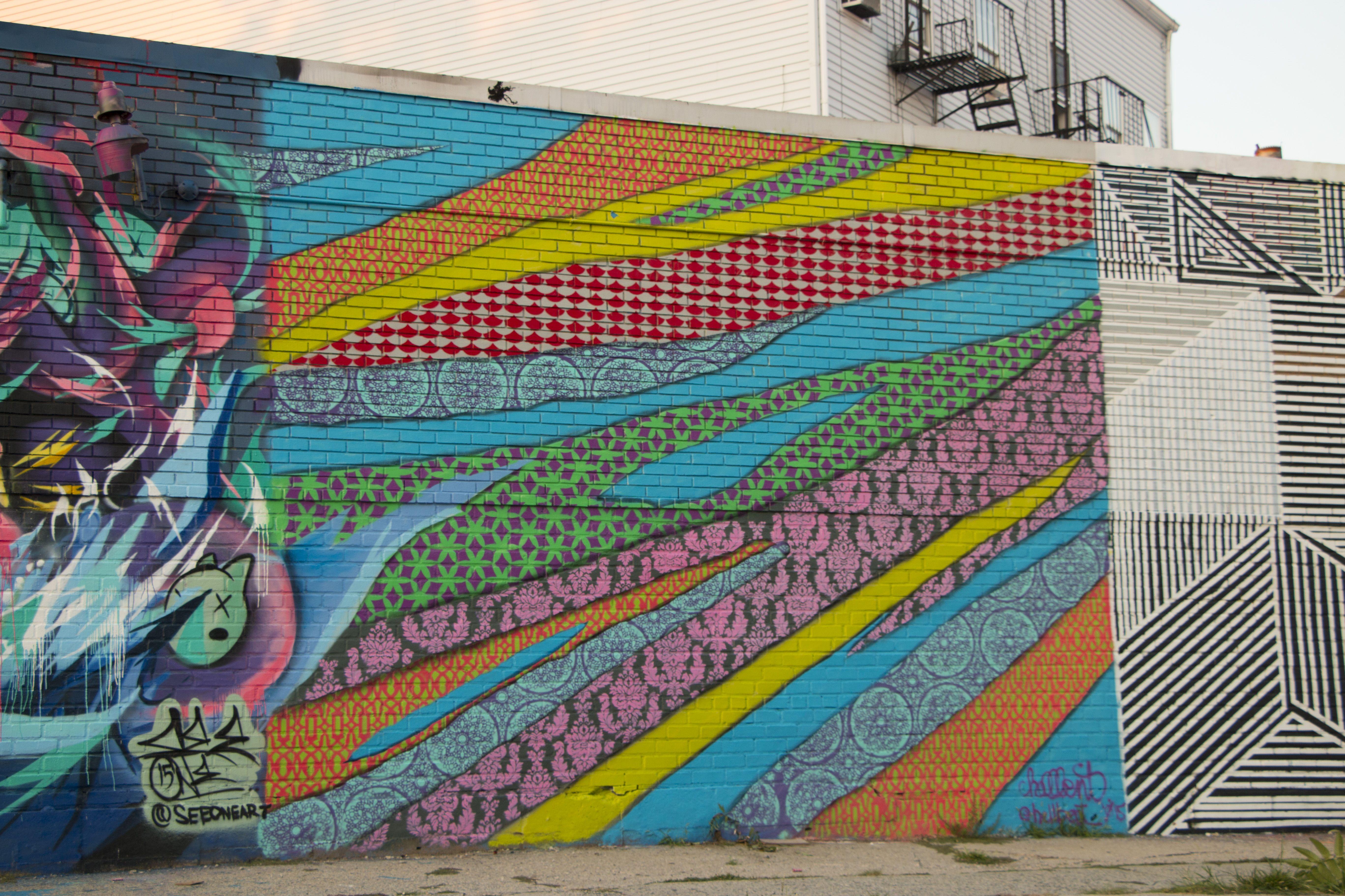 Graffiti wall in queens ny - Graffiti