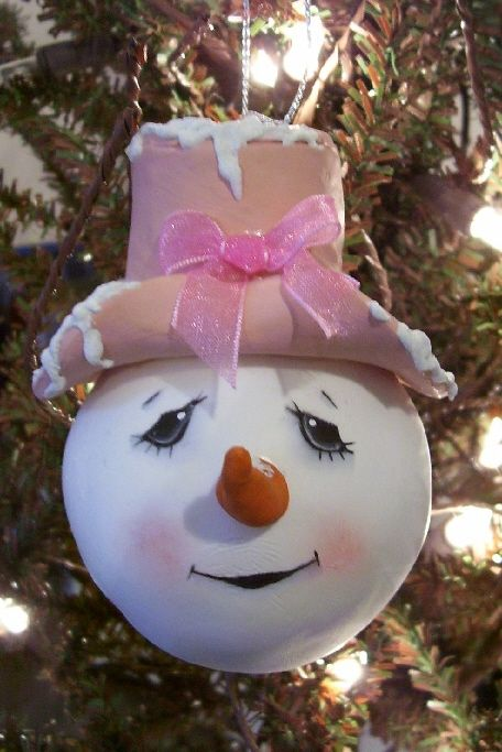 Harmony Road Studio: New snowie ornaments