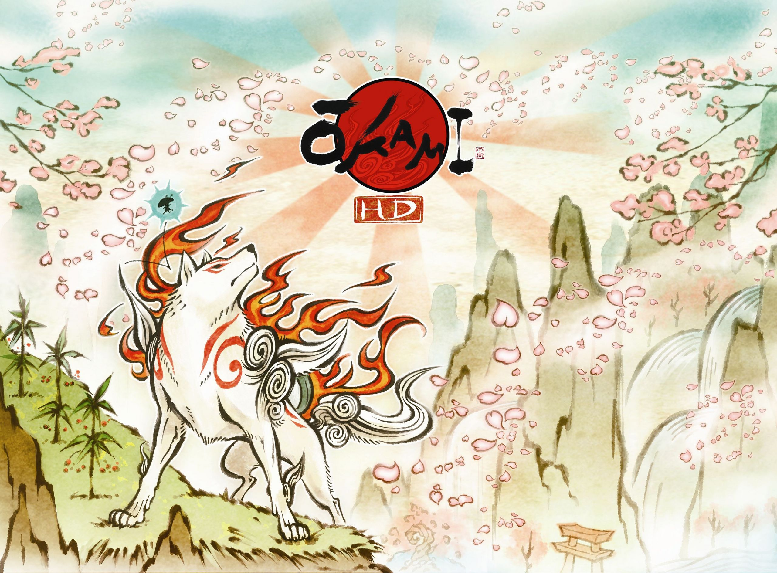 Okami Amaterasu Photo Okami Hd Wallpaper Okami Tattoo