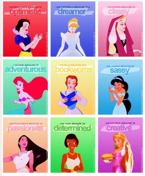 Disney ladies.