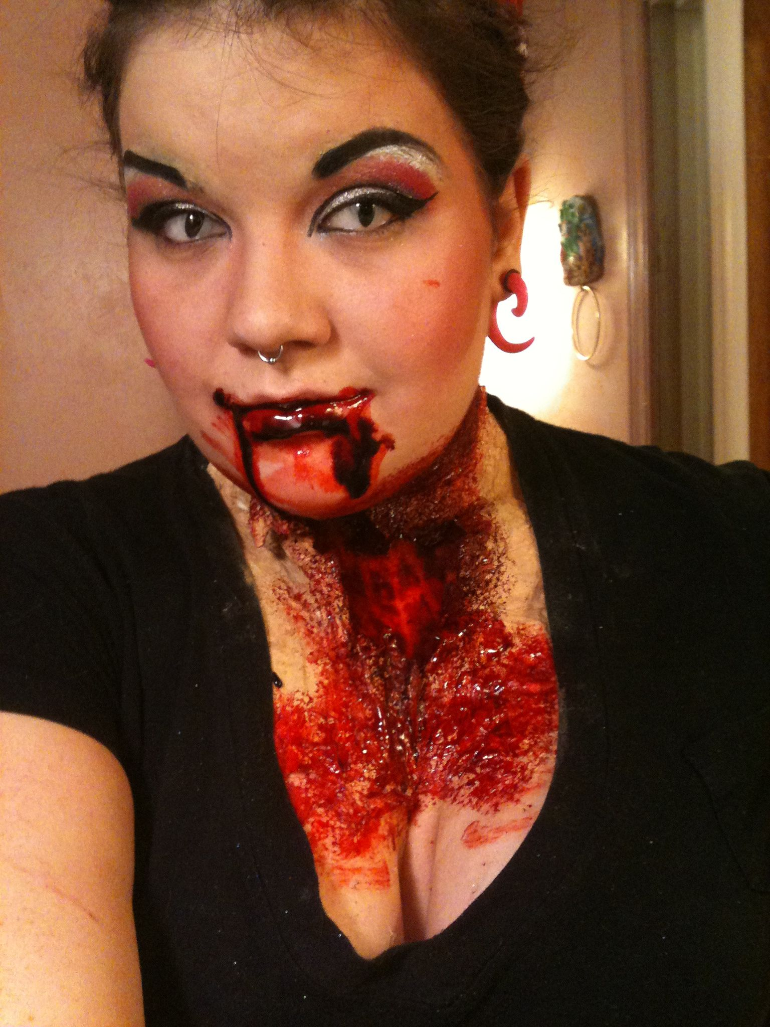 Onie's Blog Special effects makeup, Couture makeup
