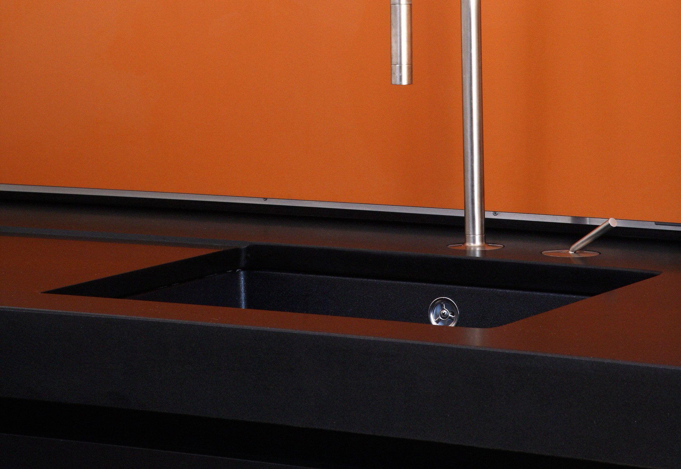 Holzrausch kuche p12 gt sauberes detail eingelassene for Amatur küche