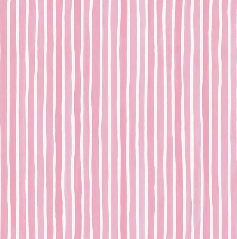 Cole & Son Wallpaper 110/5029.CS Croquet Stripe Soft Pink