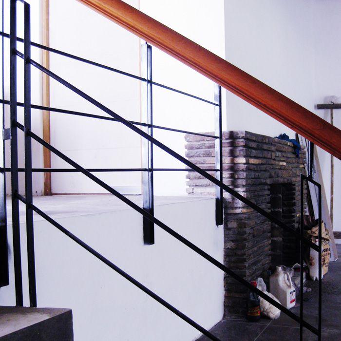 Tipos de barandas para escaleras