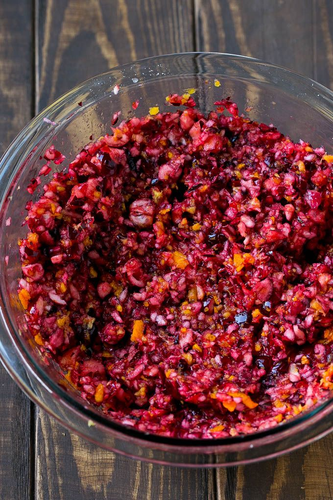 Cranberry Relish - Dinner at the Zoo