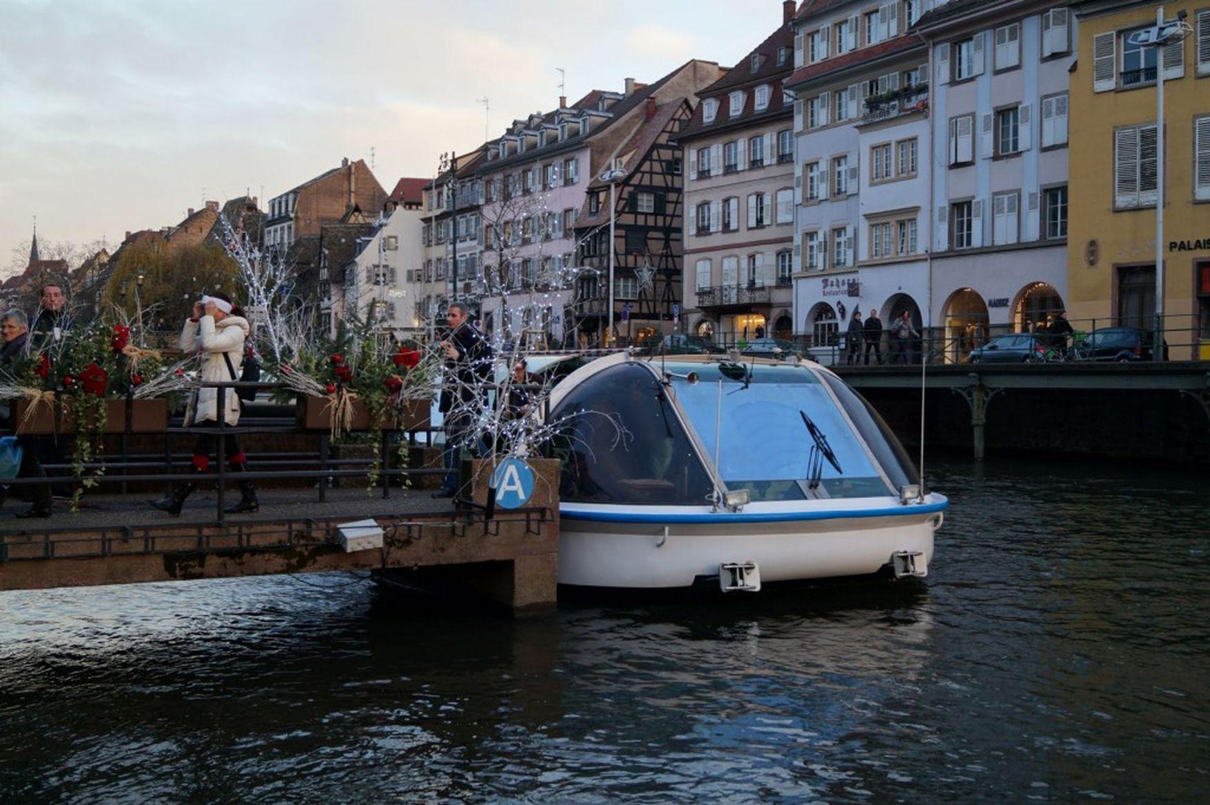 Straßburg - Bootsfahrt auf der Ill