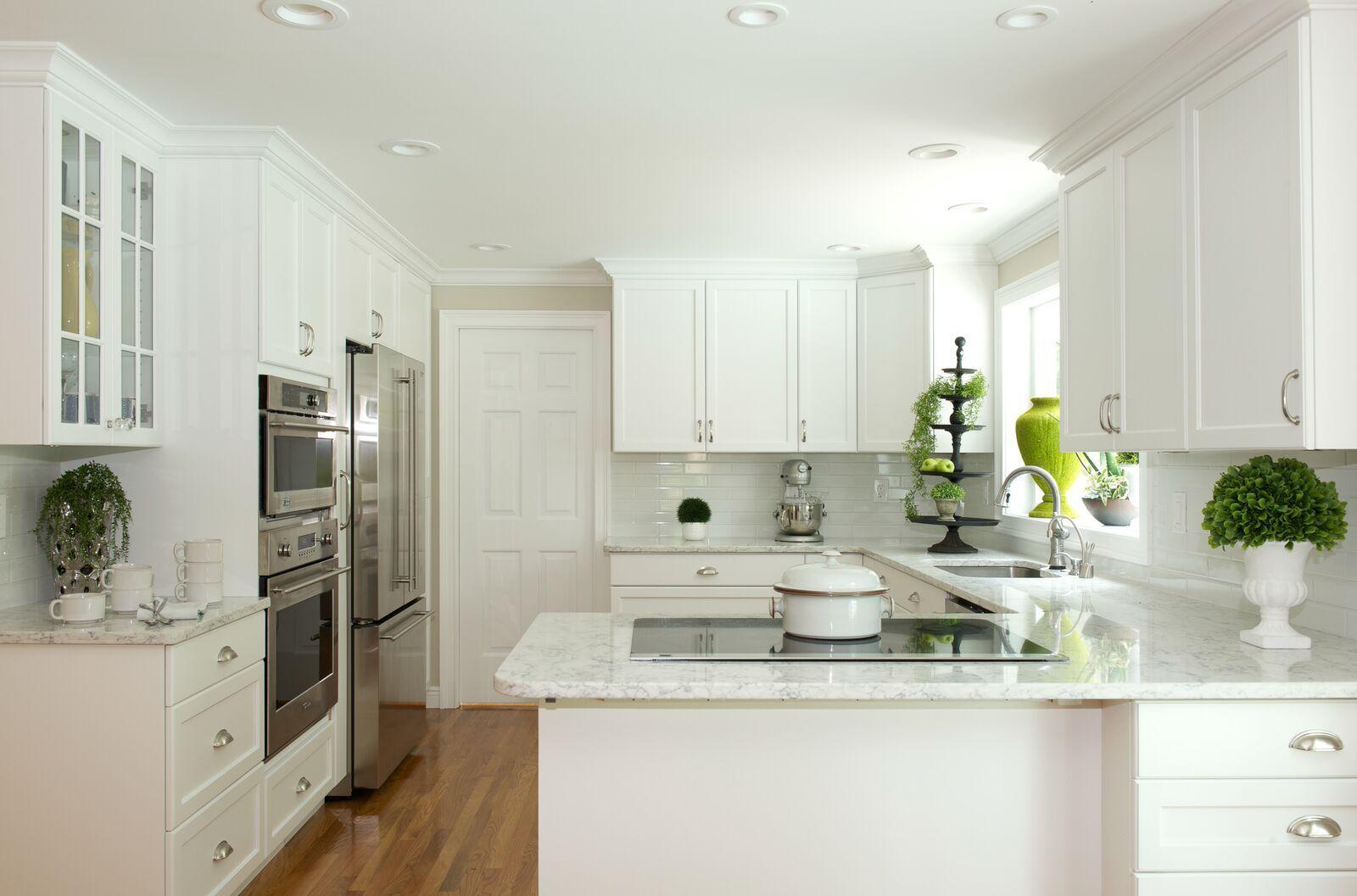 Kitchen Remodel - Taylor Bryan Company Quartz counter top - White ...