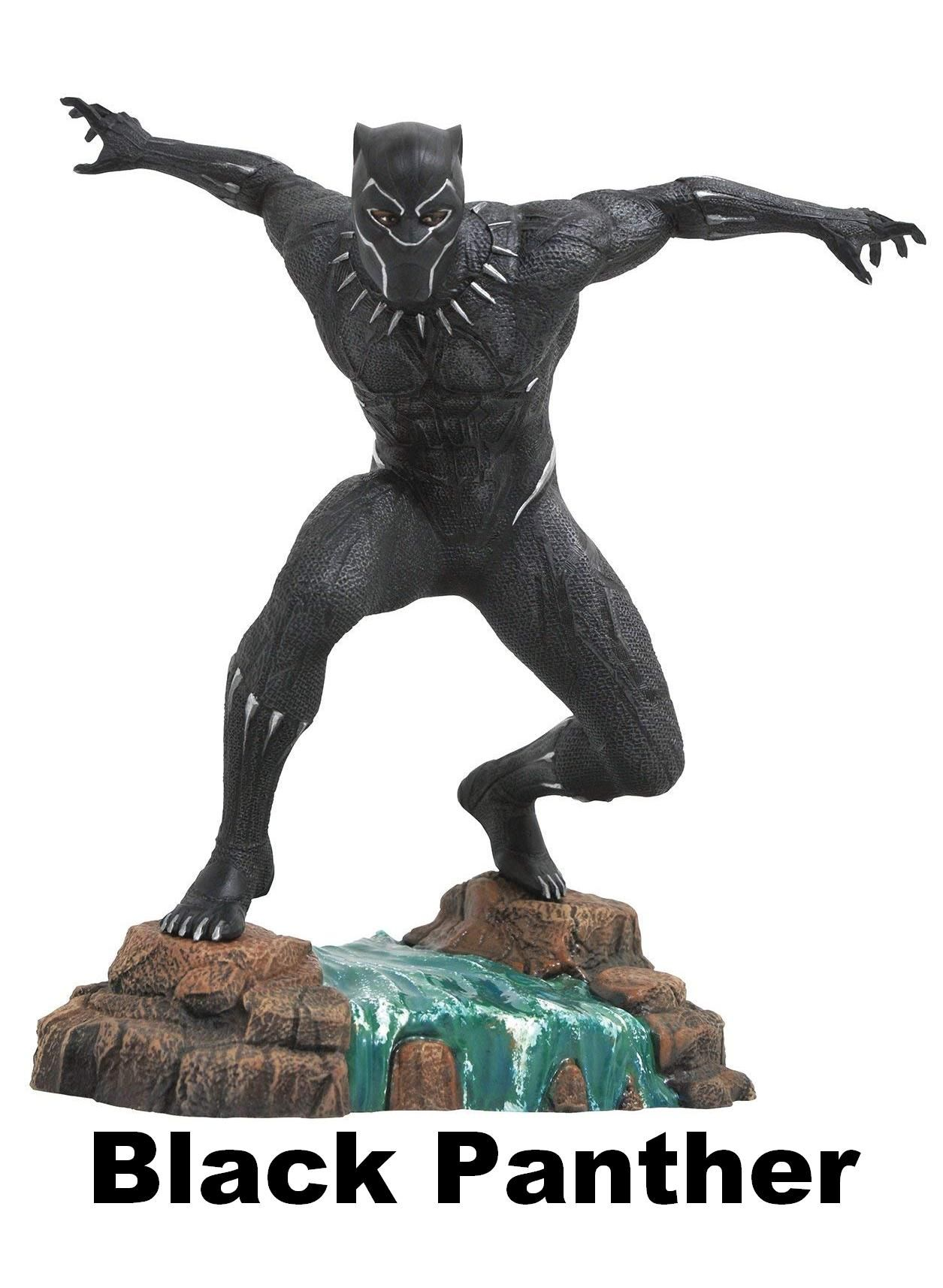 Black panther statue from diamond select toys marvel