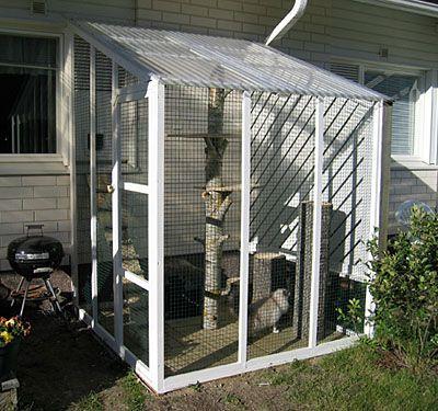 Kissatarha 2007 Outdoor Cat House Cat Playground Outdoor Cat Enclosure