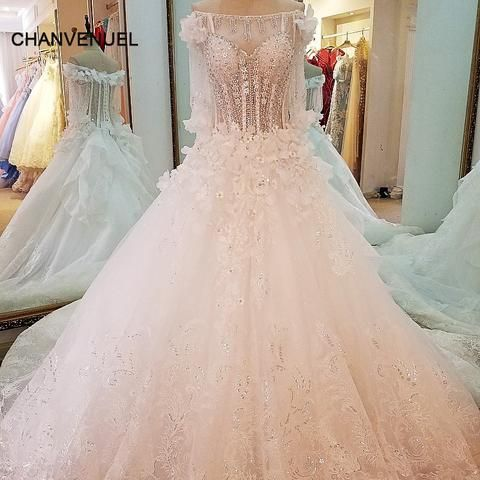 ls99642 special wedding dresses lace ball gown corset back