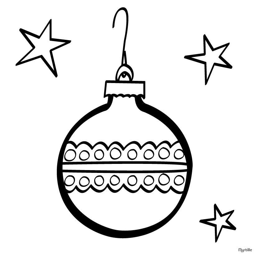christmas | CHRISTMAS TREE BALLS coloring pages - Christmas ball ...