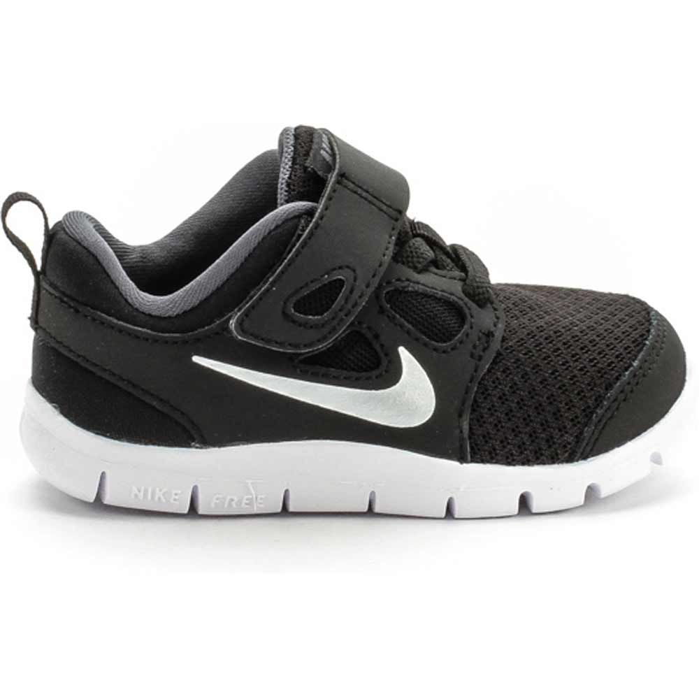 nike free run 5.0 black toddler shoes