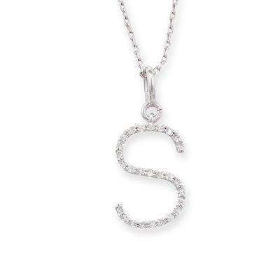 exclusive letter s diamond pendant httpwwwlondonroadjewellerycouk