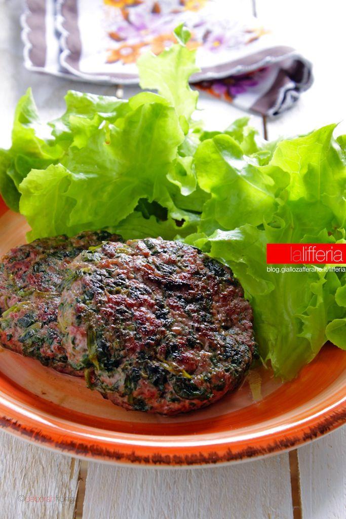 Molto Hamburger con spinaci senza uova | Hamburger con spinaci, Spinaci YI77