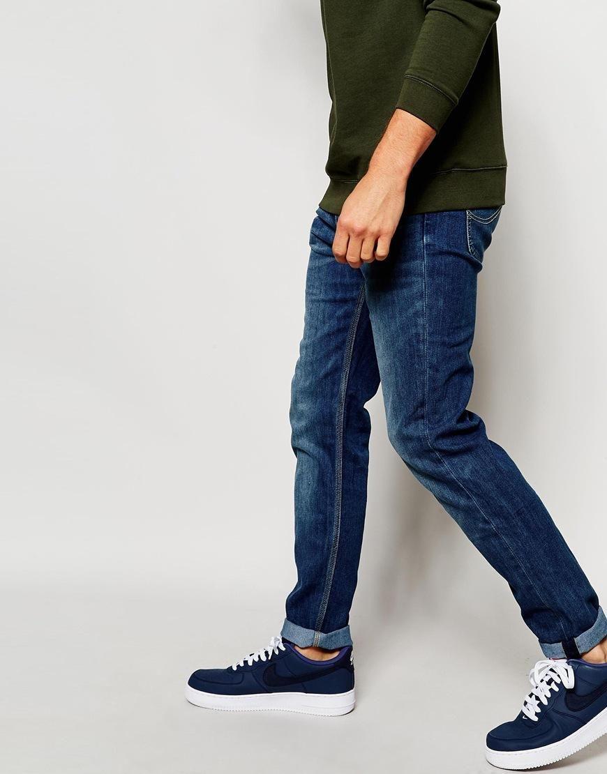 b5467617 Lee | Lee Jeans Arvin Slim Tapered Fit Blue Legacy Mid Wash at ASOS ...