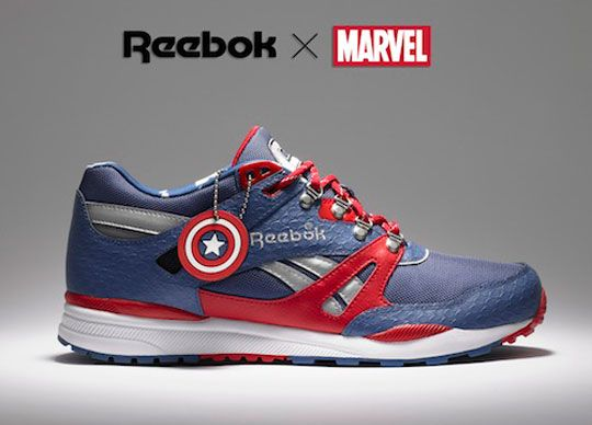 online store 8d0b1 f44f9 Reebok x Marvel Sneaker Collection  Sneakers  Marvel shoes, Captain  america shoes, Reebok