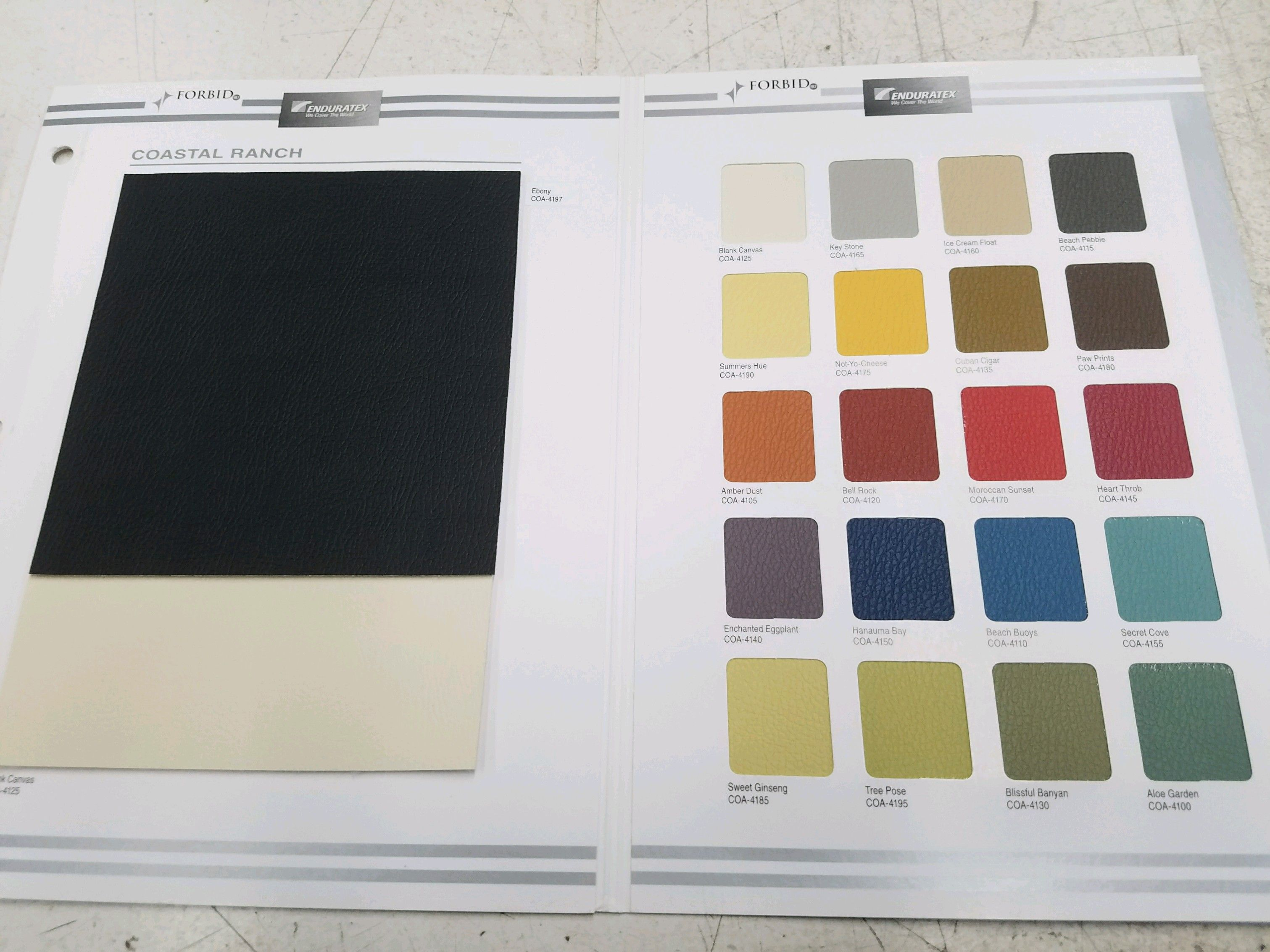 Trim Products On Contract Vinyl Cloth