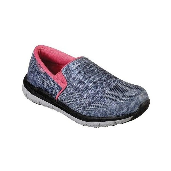 Skechers Work Relaxed Fit Comfort Flex Pro HC SR II Slip-On(Women's) -Gray/White Clearance Purchase xqb6E
