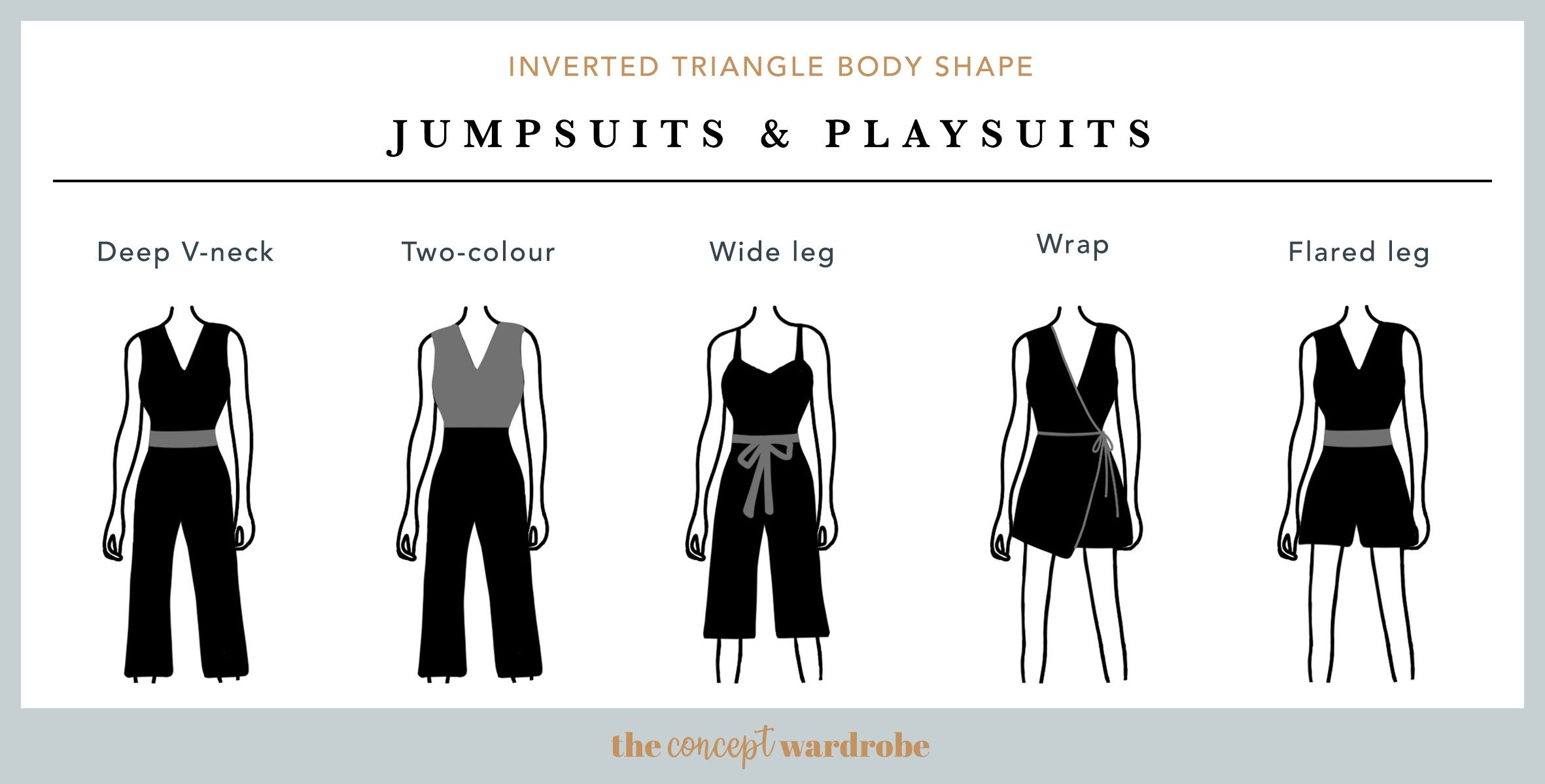 Inverted Triangle Body Shape With Images