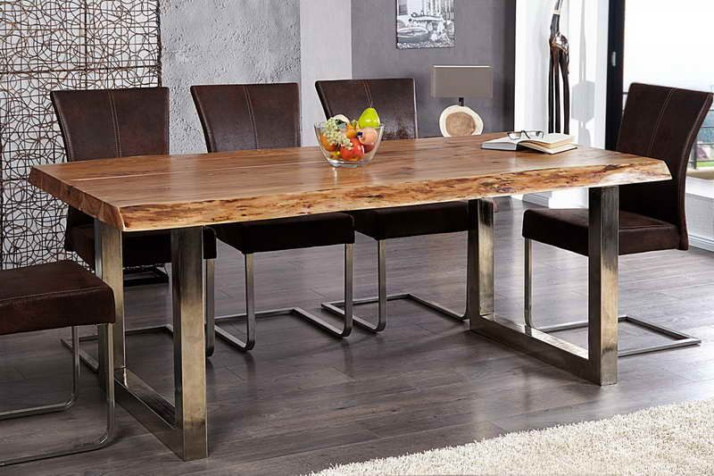 Salle manger contemporaine table salle manger bois 10 for Table salle a manger contemporaine