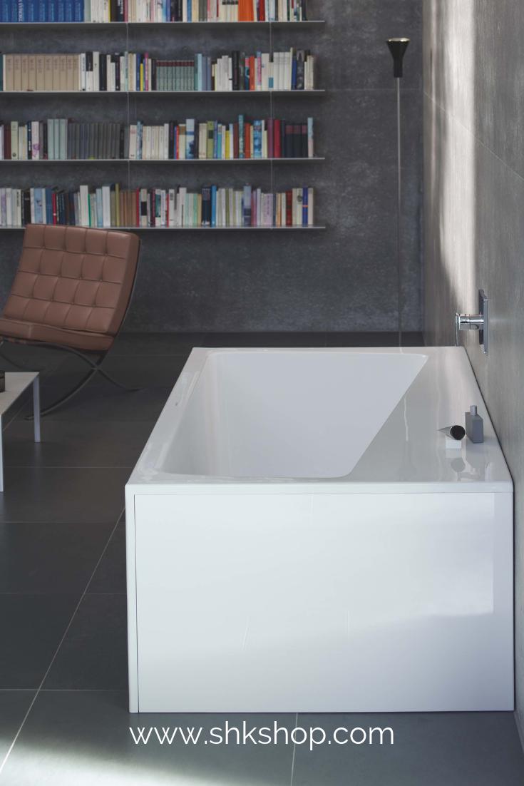 Duravit Paiova Die Gemutliche Halbfreistehende Badewanne Passt Mit Ihrem Modernen Zeitlosen Design In Jedes Badezim Badezimmer Badezimmer Design Bad Design