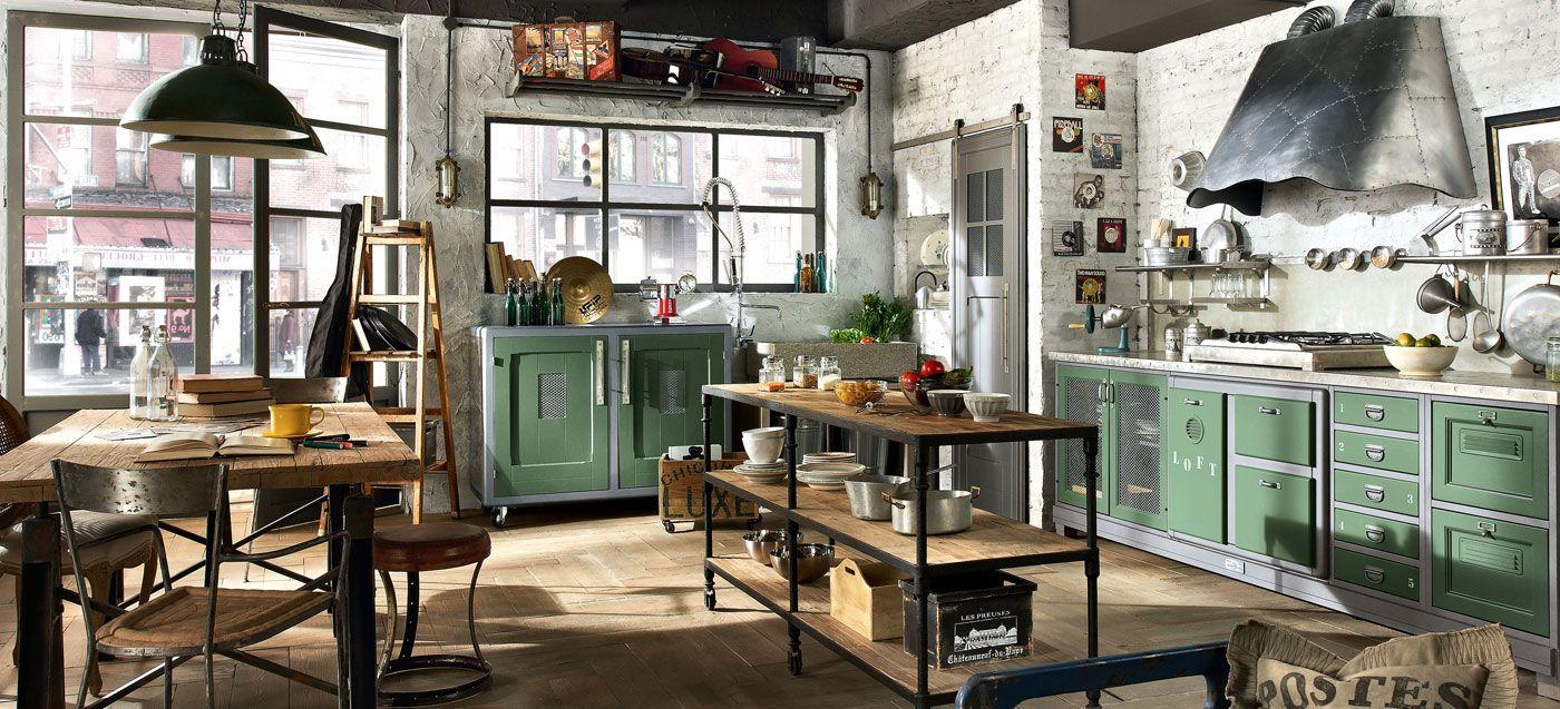 Cucine componibili in stile contemporaneo cucine stile for Stile classico moderno