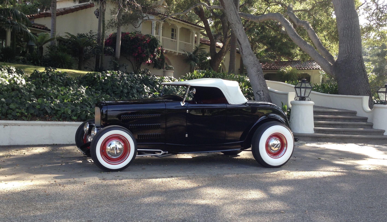 Ken Partch of Santa Barbara and his Roy Brizio built 1932