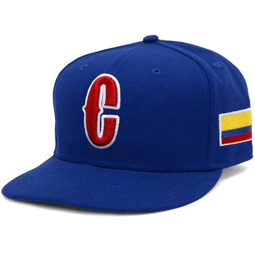 93eaf33c6cf Colombia 2013 World Baseball Classic Authentic Game Fitted Cap - MLB.com  Shop