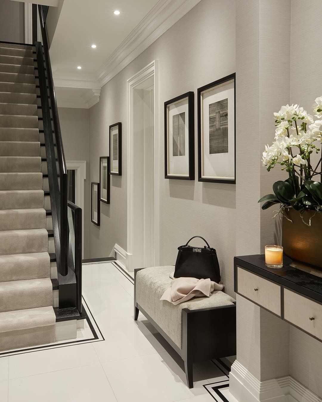 Home Interior Entrance Design Ideas: Pin By Alex Secrett On Hallways
