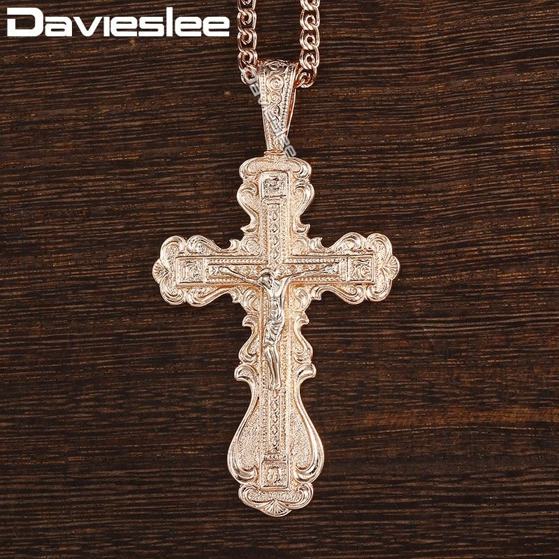 """A LOVELY TIBETAN SILVER CROSS//CRUCIFIX TURQUOISE BEAD NECKLACE 18/"""" SNAKE CHAIN"""