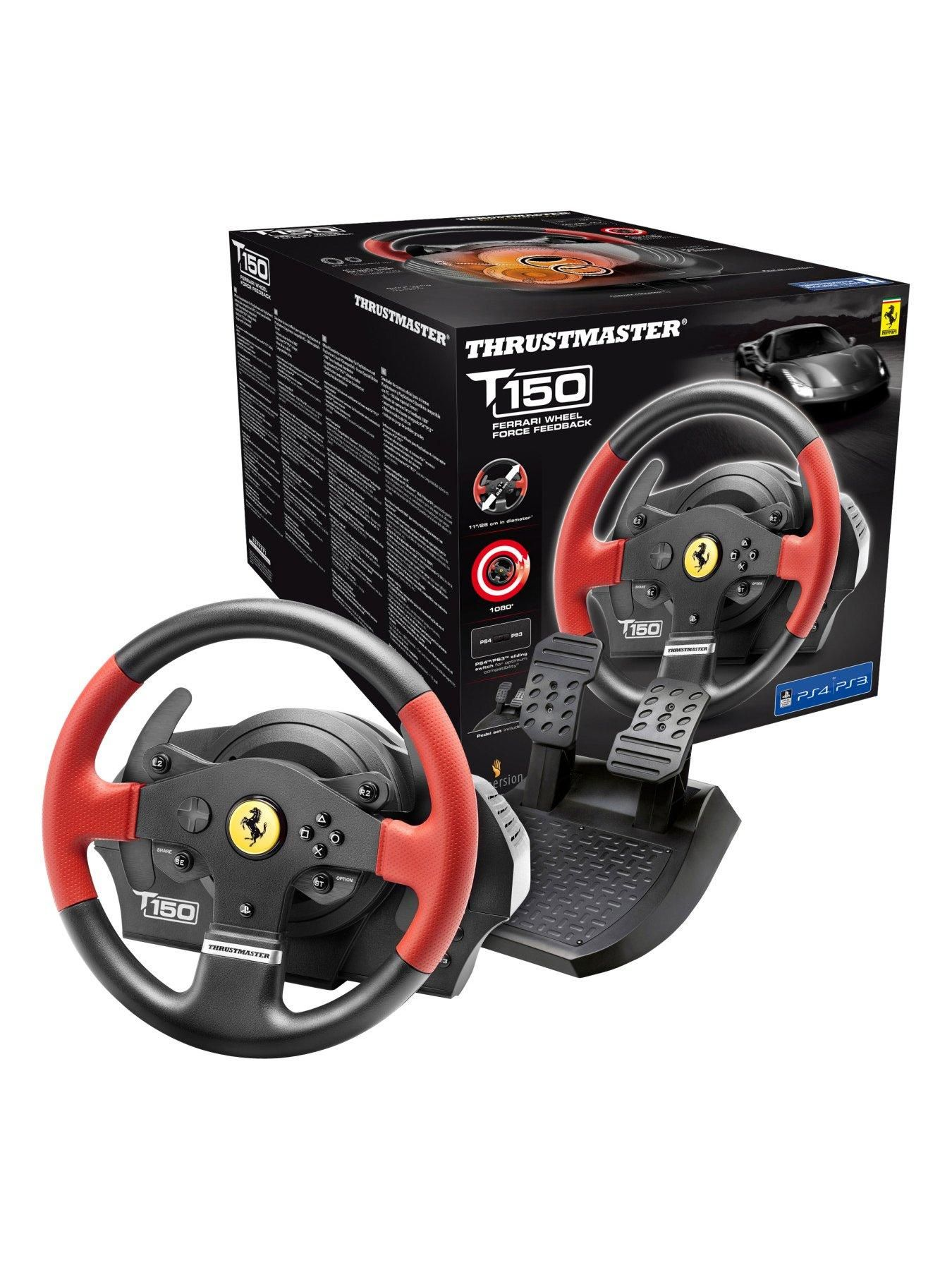 Thrustmaster T150 Ferrari Edition One Colour In 2020 Ferrari