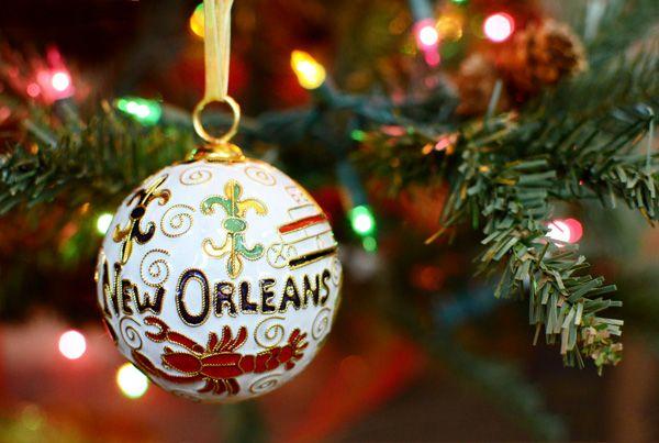 New Orleans Christmas Ornaments.Cloisonne Louisiana Ornaments For Christmas Christmas