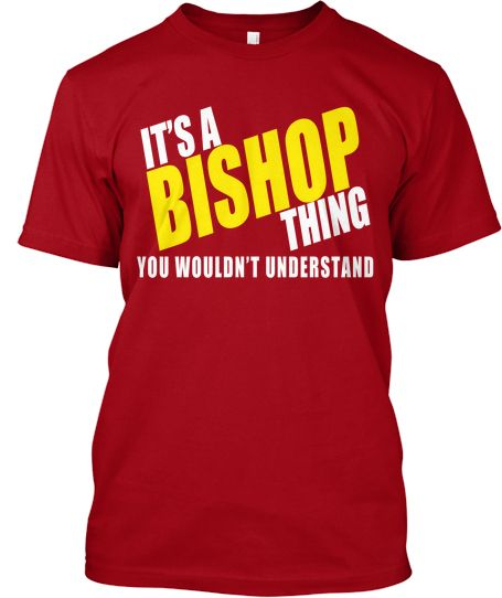 It's a Bishop Thing - Limited Tee