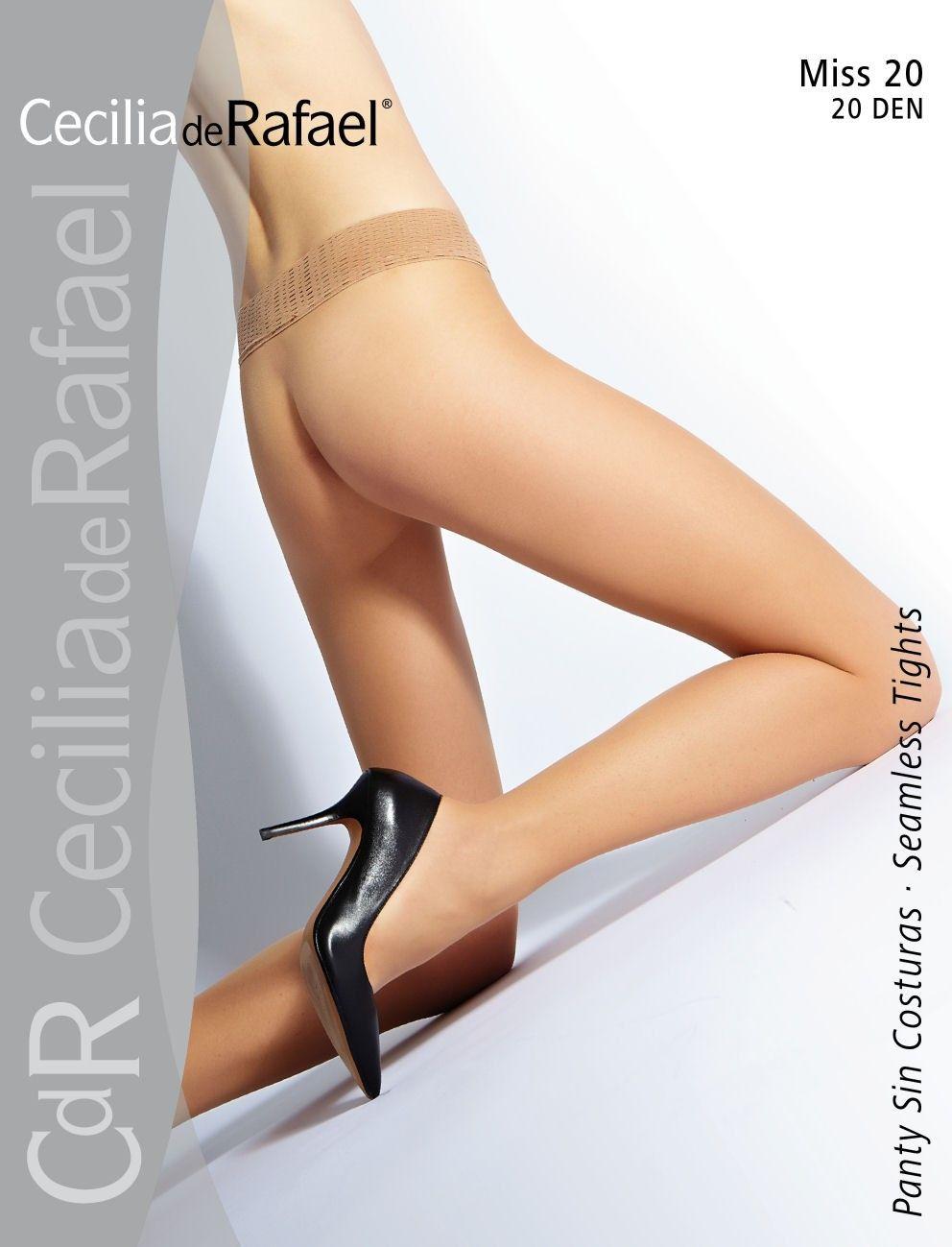 add137a5bb4 Miss 320 Seamless Pantyhose by Cecilia de Rafael