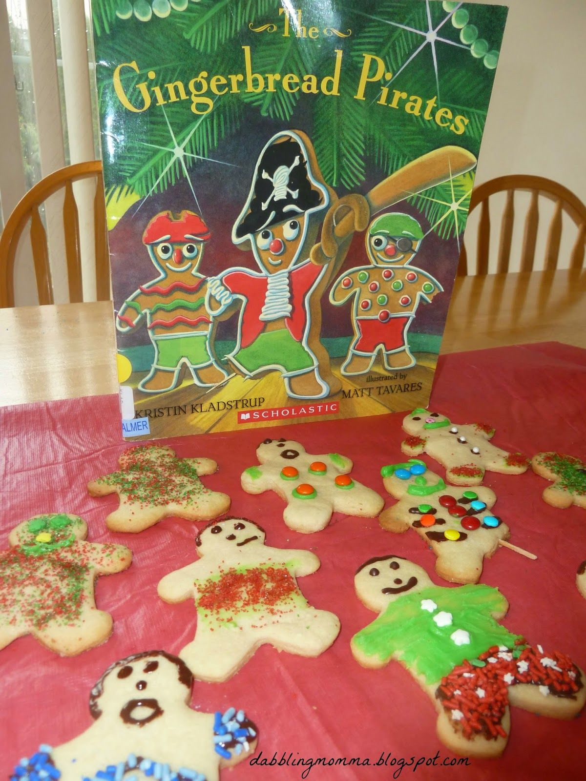Dabblingmomma The Gingerbread Pirates Book And Activity