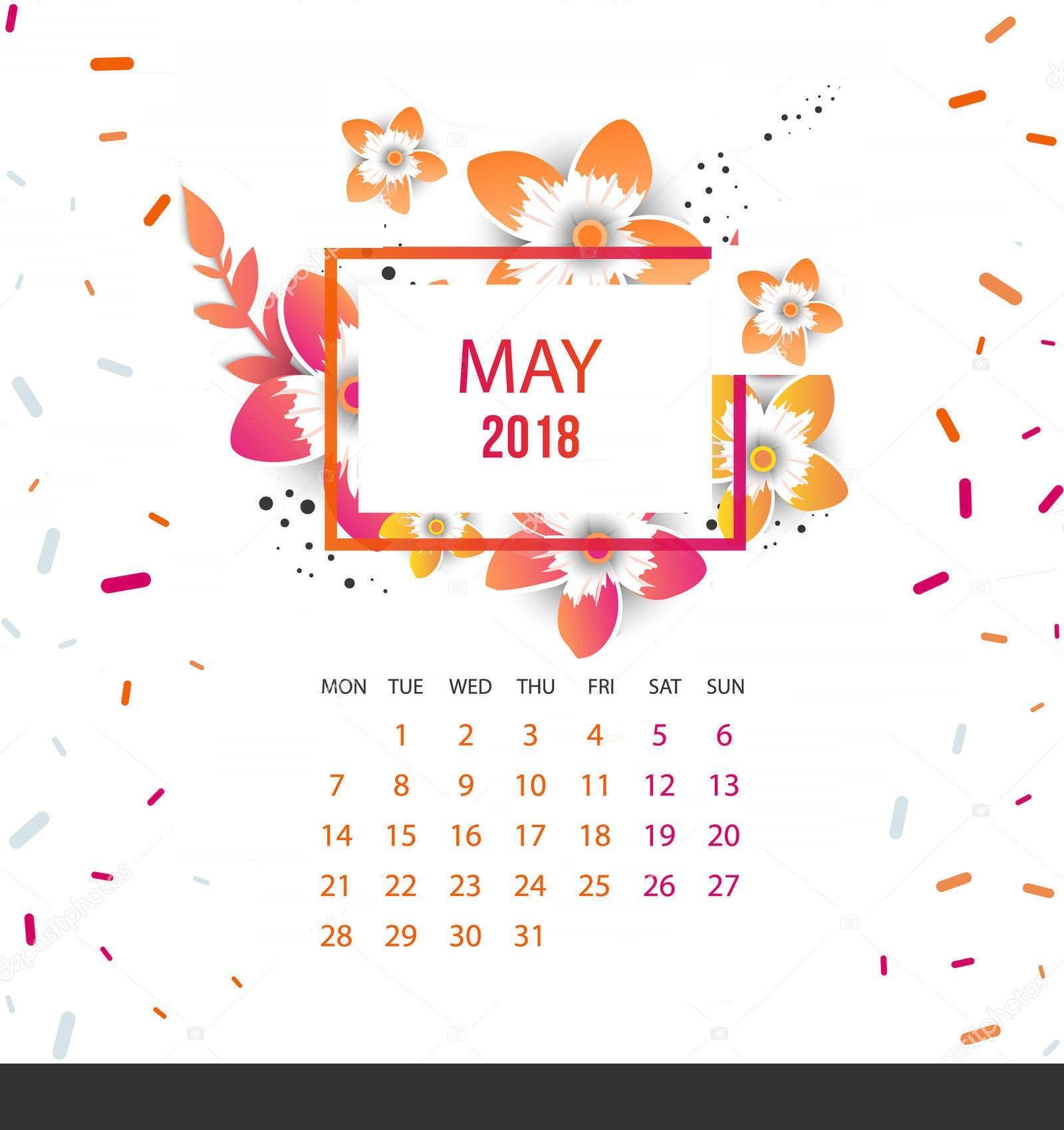 Design your own calendar 2018