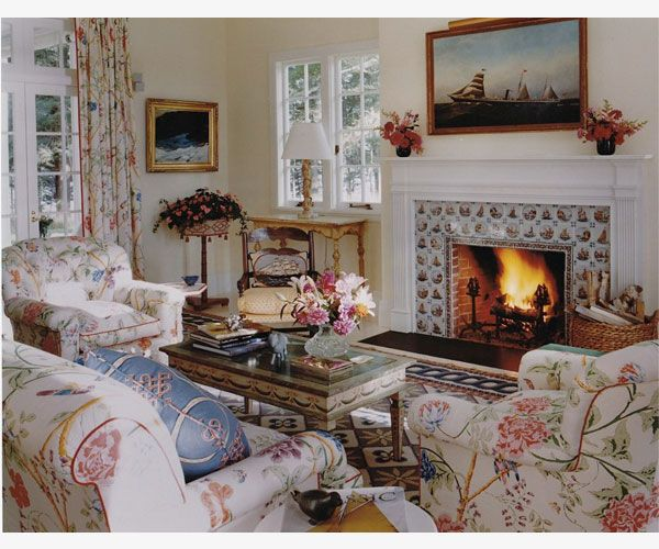 Elegant English Cottage Style English Country Style London