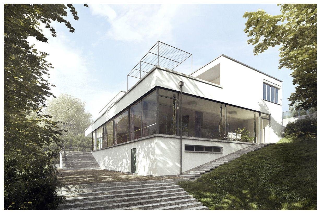 villa tugendhat 3d recreation by lasse rode mies. Black Bedroom Furniture Sets. Home Design Ideas